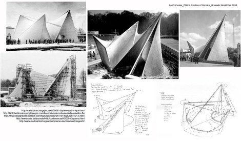 Le Corbusier_Philips Pavilion of Xenakis_Brussels World Fair 1958